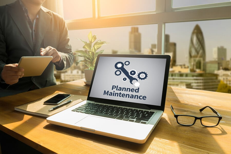 website maintenance plan